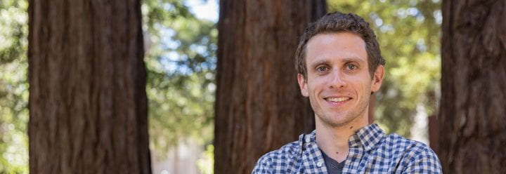 Portrait of UC Santa Cruz Assistant Professor of MCD Biology Joshua Arribere