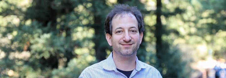 Portrait of UC Santa Cruz Professor of Chemistry & Biochemistry Seth Rubin