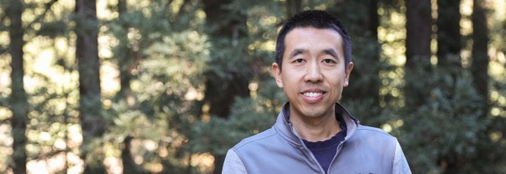 Portrait of UC Santa Cruz Associate Professor of MCD Biology Zhu Wang
