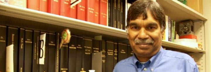 Portrait of UC Santa Cruz Professor of Chemistry & Biochemistry Bakthan Singaram