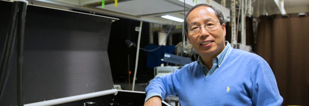 Portrait of UC Santa Cruz Professor of Chemistry & Biochemistry Jin Zhang
