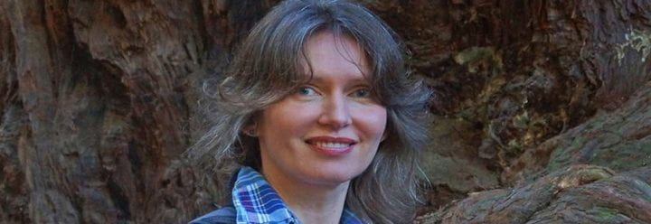 Portrait of UC Santa Cruz Associate Professor of Ecology & Evolutionary Biology Jarmila Pittermann