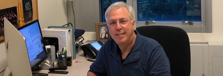 Portrait of UC Santa Cruz Professor of Chemistry & Biochemistry Glenn Millhauser