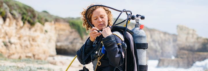 Portrait of UC Santa Cruz Associate Professor of Ecology & Evolutionary Biology Kristy Kroeker