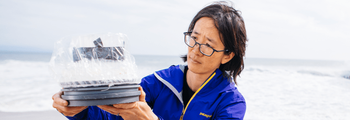 Portrait of UC Santa Cruz Associate Professor of Ocean Sciences Phoebe Lam