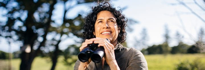 Portrait of UC Santa Cruz Professor of Ecology & Evolutionary Biology Erika Zavaleta