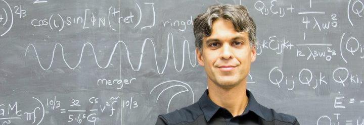 Portrait of UC Santa Cruz Professor of Astronomy & Astrophysics Enrico Ramirez-Ruiz