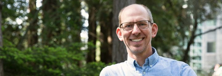 Portrait of UC Santa Cruz Professor of Astronomy & Astrophysics Jonathan Fortney
