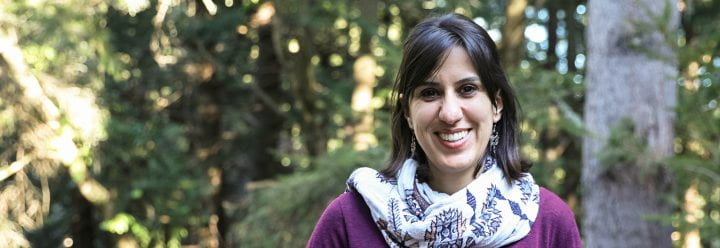 Portrait of UC Santa Cruz Assistant Professor of Microbiology & Environmental Toxicology Raquel Chamorro-Garcia