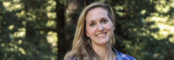 Portrait of UC Santa Cruz Lecturer of Chemistry & Biochemistry Caitlin Binder