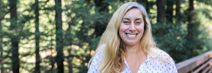 Portrait of UC Santa Cruz Associate Professor of Earth & Planetary Sciences Heather Savage