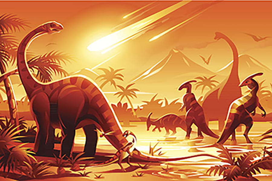 In death of dinosaurs, it was all about the asteroid — not volcanoes