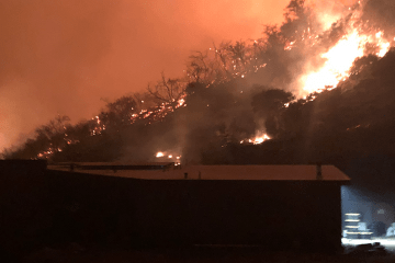 Three major wildfires impact campus facilities