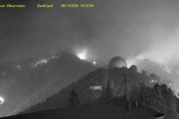 UC's Lick Observatory threatened by fire