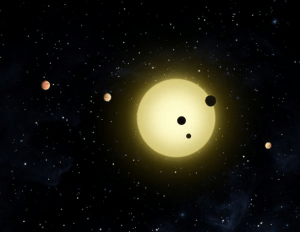 Discovered Two Exoplanets 54 Light-Years Away
