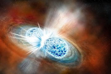 UC astronomers first to observe merging neutron stars