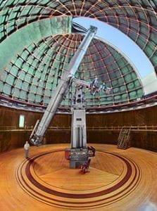 Built World's Largest Telescope