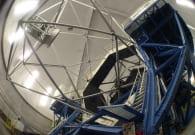 Completed Keck I Telescope On Mauna Kea