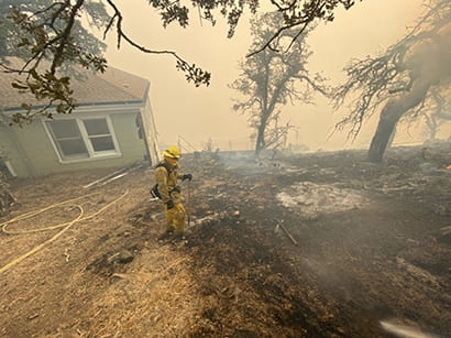 Friends of Lick Observatory helps fund wildfire recovery efforts