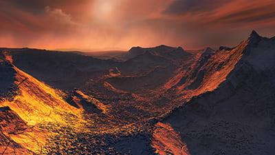 Planet found around nearby Banard's star