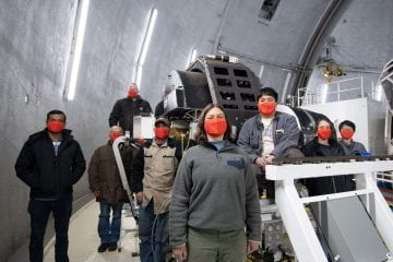 W. M. Keck Observatory Achieves First Light With LRIS Upgrade
