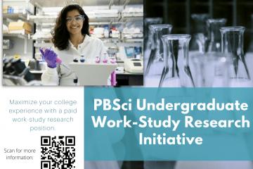 Undergraduate Work-Study Research Initiative seeks faculty facilitators