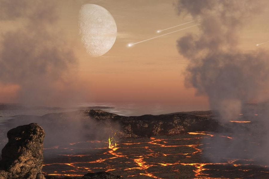 Baked Meteorites Yield Clues to Planetary Atmospheres