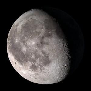 """screencast moon"" (Waning  Gibbous by NASA via Flickr)"