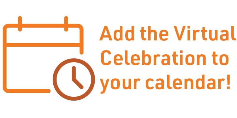 Add the virtual celebration to your calendar!