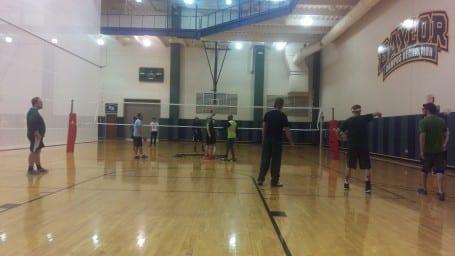 Department Volleyball tournament