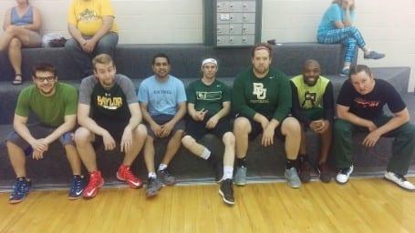 Department volleyball tournament - Pinney team 1