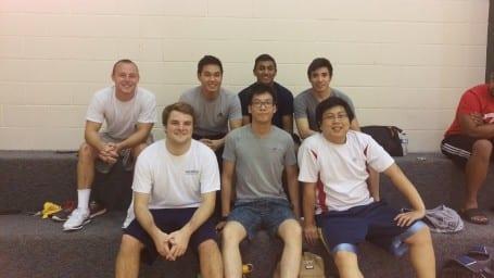 Department volleyball tournament - Pinney team 2