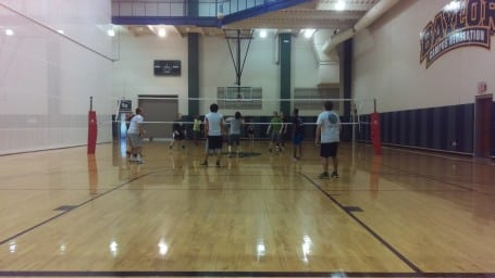 Department Volleyball tournament - the Pinney teams play each other