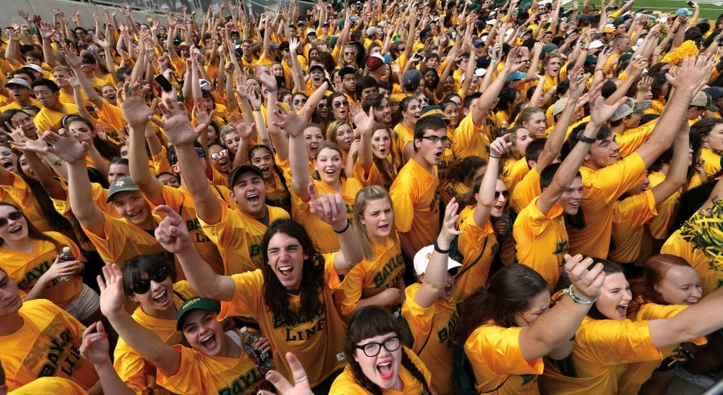 First-Year Students Excited about Baylor University