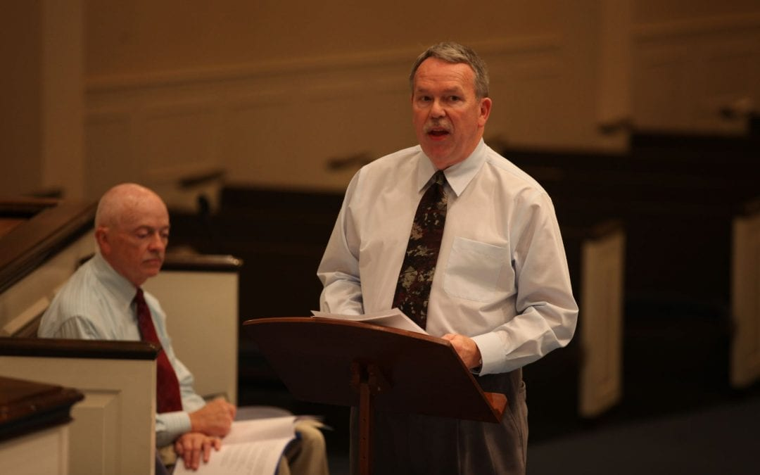 Michael Morgan – Spring 2012 – Church Music Forum