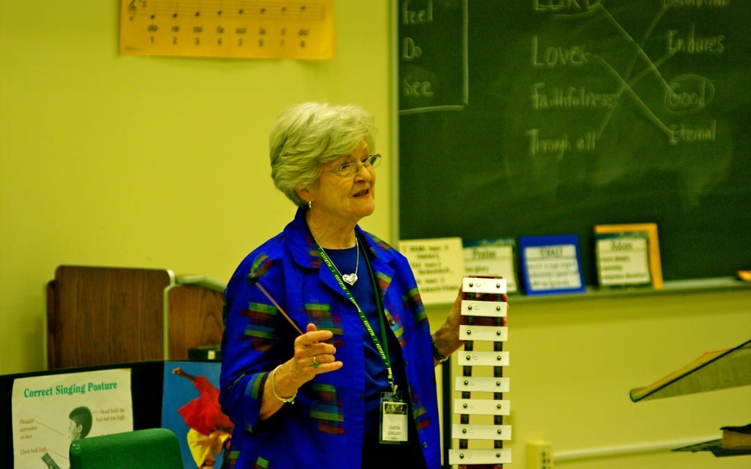 Martha Kirkland – What Needs to Happen Between Preschool & Upper Elementary (2012 Alleluia Conference)