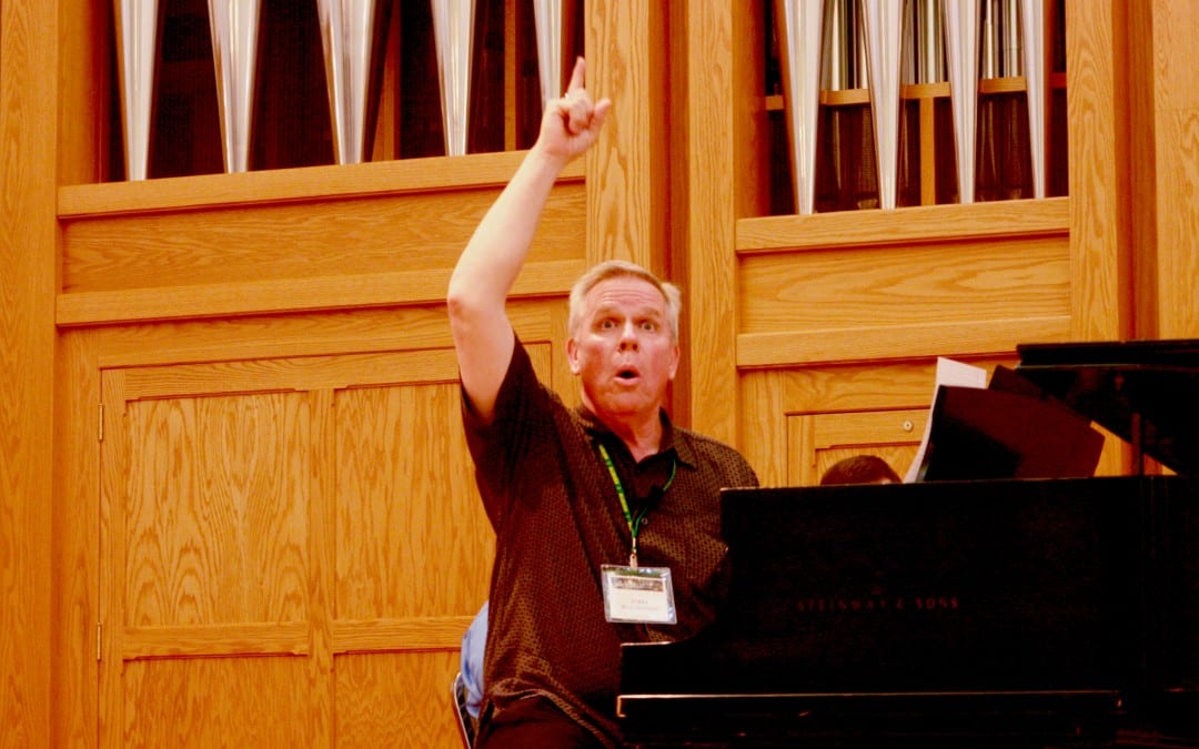 Jerry Blackstone – Working with Male Voices (2013 Alleluia Conference)