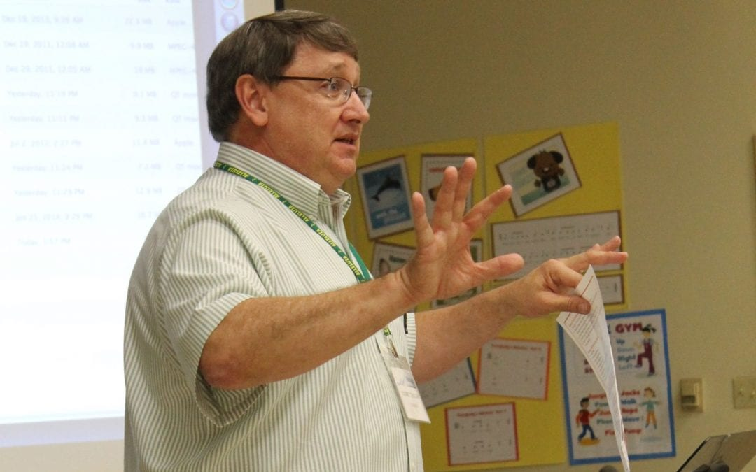 Terry Taylor – Help Me Grow My Voice (2014 Alleluia Conference)