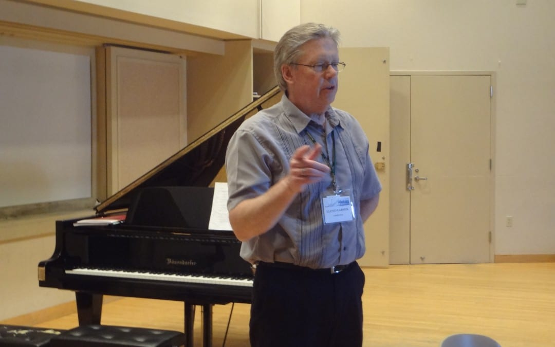 Lloyd Larson – Developing Keyboardists in your church (2014 Alleluia Conference)