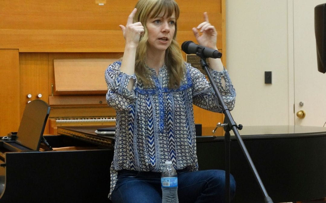 Sandra McCracken – Spring 2015 – Hearn Innovators Series/Church Music Forum