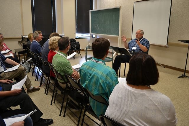 Larry Shackley – Composing (2015 Alleluia Conference)