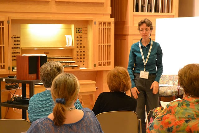 Isabelle Demers – Choral Accompaniment (2015 Alleluia Conference)
