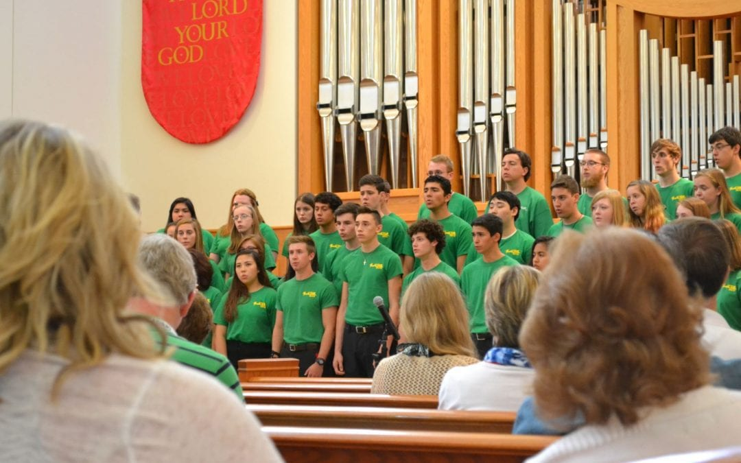 YouthCUE Texas Honor Choir (2015 Alleluia Conference)