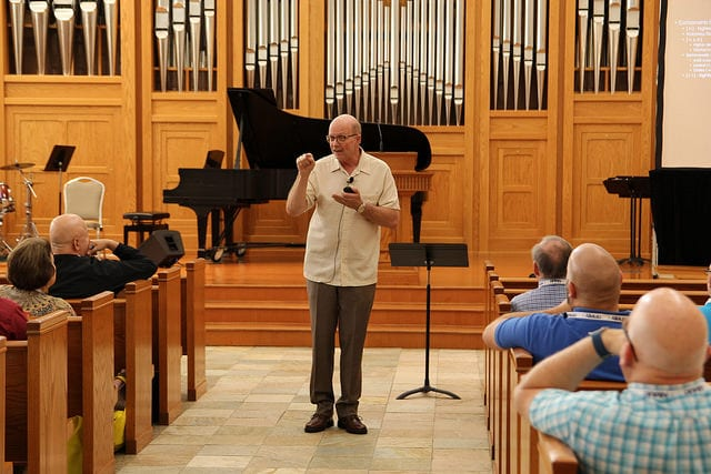 Jo-Michael Scheibe – Seating, Placement, and Vital Colors for Your Choir (2016 Alleluia Conference)