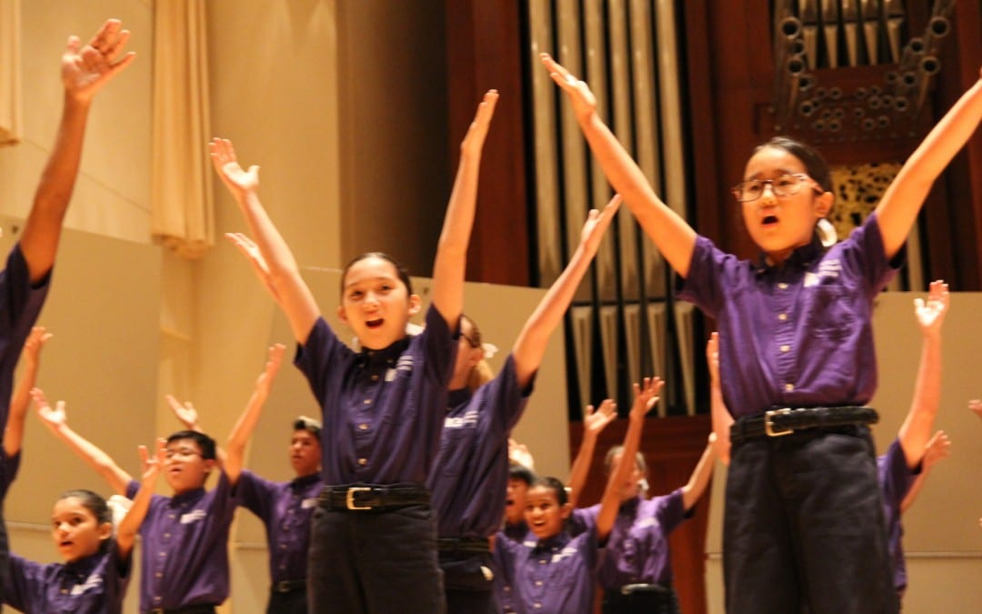 Houston Children's Chorus Concert (2016 Alleluia Conference)