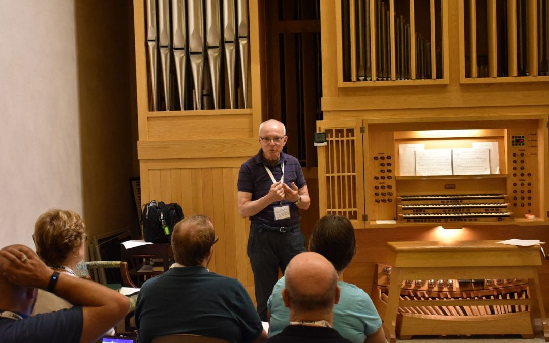 John Ferguson – Improvisations in Hymn Playing Part 2 (2017 Alleluia Conference)