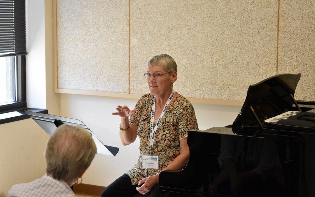 Cindy Berry – My Accompanist is a Mind Reader (2017 Alleluia Conference)