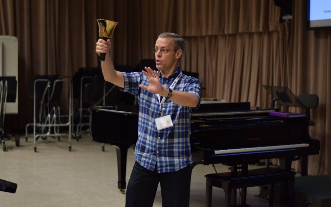 Ron Mallory – Techniques for Handbell Ringers and Conductors (2018 Alleluia Conference)