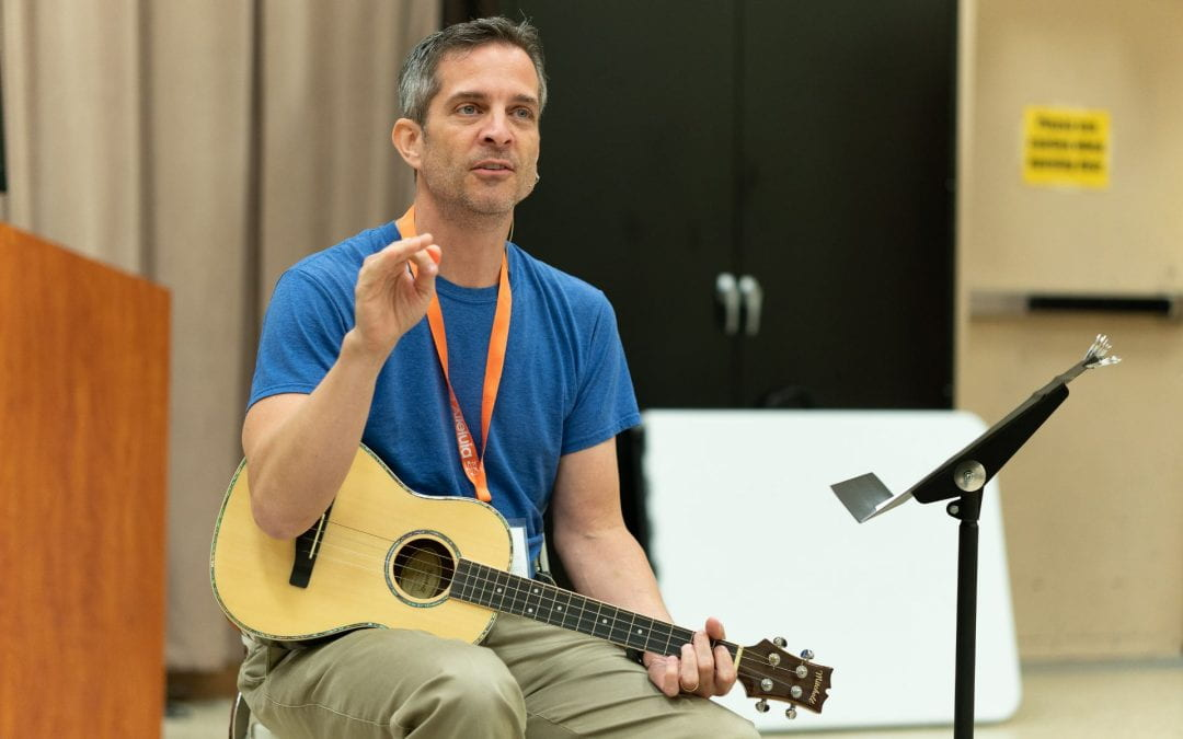 Mark Burrows – Music with Mister Mark: Circle Time Music in Early Childhood (2019 Alleluia Conference)