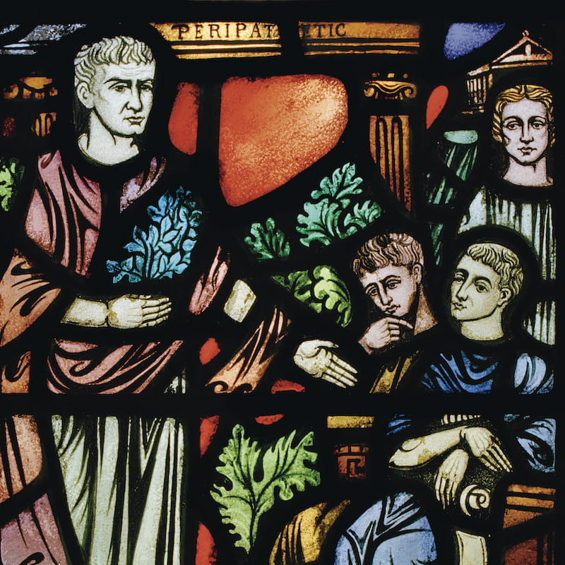 Logic in Transforming Light: The Stained-Glass Windows